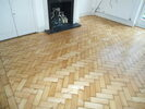 Incredible wood floor after repair in Surrey