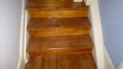 Wonderful wood staircase after rejuvenating  in Surrey