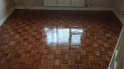 Fantastic wood floor after refurbish in Surrey
